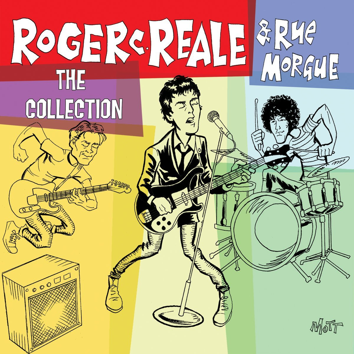 CD cover of Roger C. Reale & Rue Morgue — The Collection